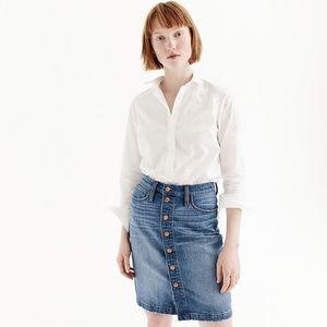J. Crew Slim stretch perfect white shirt